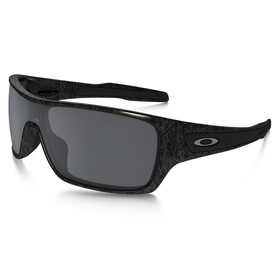 Oakley Turbine Rotor Sunglasses ghost text/black iridium
